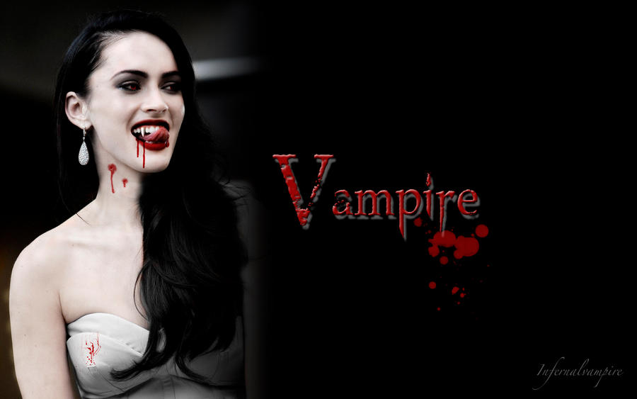 Megan the Vampire Wallpaper by KittieVampire on DeviantArt