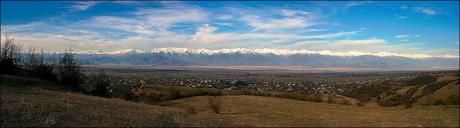 Alazani Valley by nvardzelashvili
