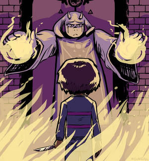 Toriel and the Child