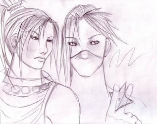 Some Ninja Chicks