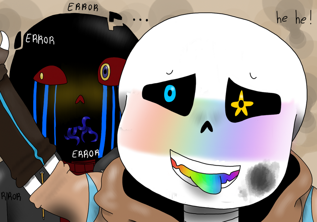 Ink Sans And Error Sans by Superfluffy28