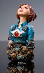 Nausicaa bust by RenieDraws