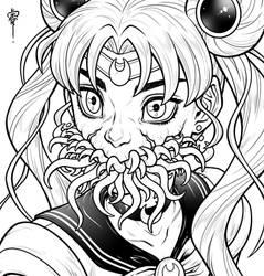 Sailor Moon redraw- inks