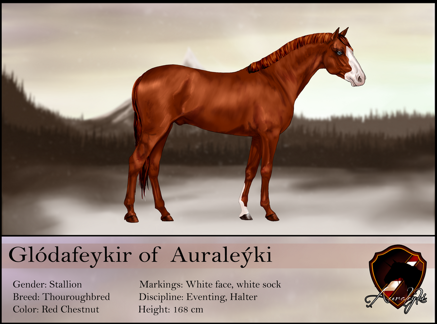 Glodafeykir reference sheet SOLD by Auraleyki