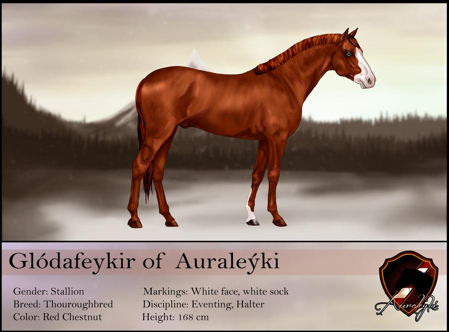 Glodafeykir reference sheet SOLD by Auraleyki