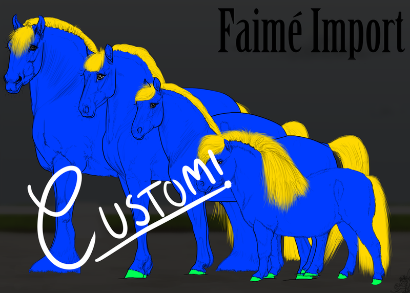 Custom Faime Import  - WINNER ANNOUNCED by Auraleyki