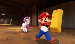 Mario steal..... FROM RARIFRUIT!