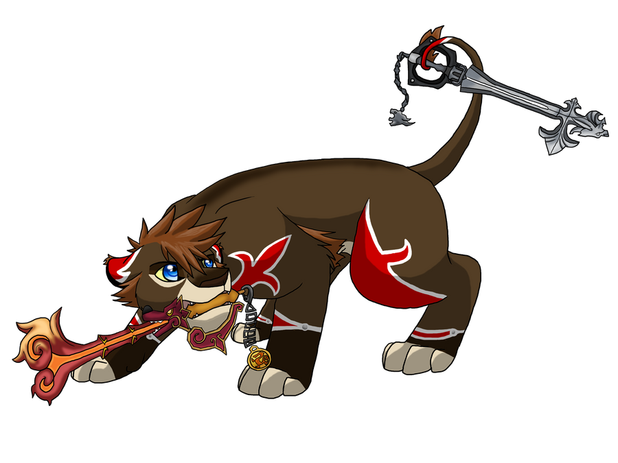 Sora-Lion Valor Form by BosleyBoz on DeviantArt