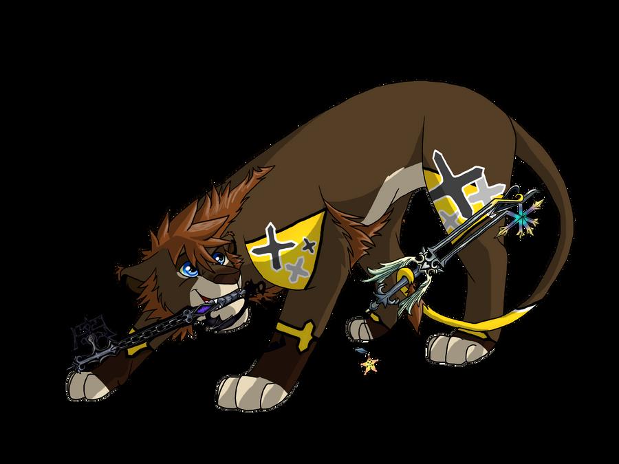 Sora-Lion Master Form by BosleyBoz on DeviantArt
