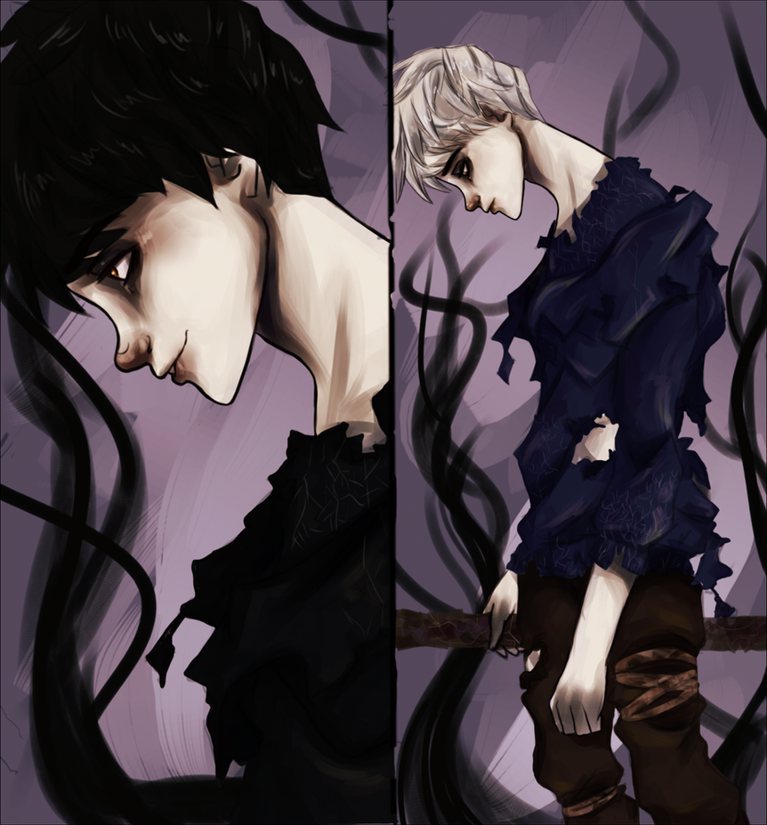 jack frost and pitch black kiss - photo #8