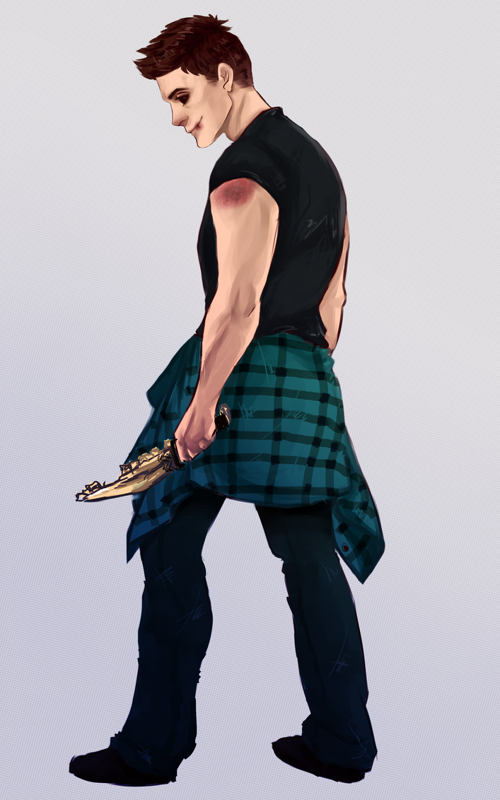 Dean Winchester by sibandit