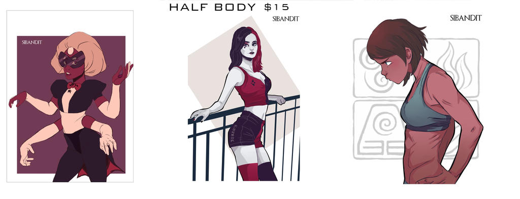 Half Body by sibandit