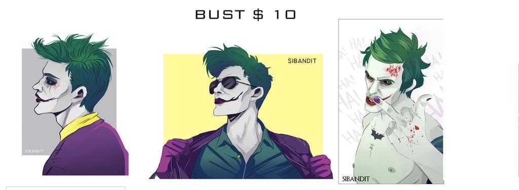 Bust by sibandit