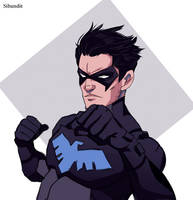 nightwing by sibandit