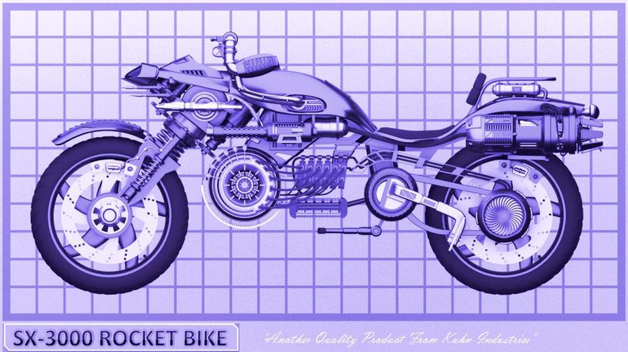Rocket bike blueprint by chriskuhn on deviantart rocket bike blueprint by chriskuhn malvernweather Image collections