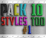 Pack 10 Styles TDD #1