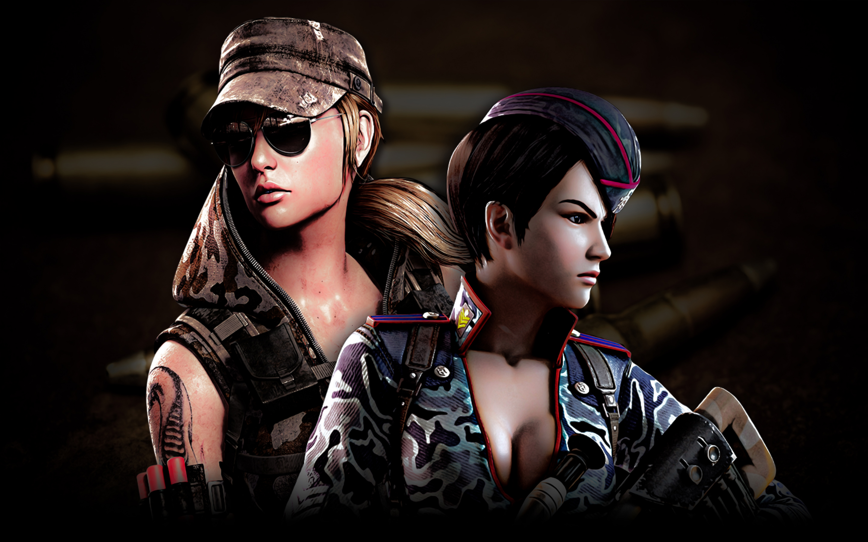 Point Blank Wallpaper - Viper And Hide by TheDamDamBW12