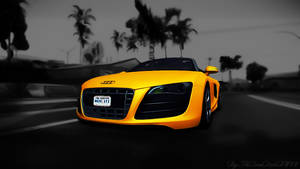 Wallpaper GTA SA - Audi R8 Spyder by TheDamDamBW12
