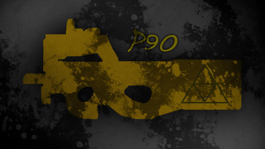 Wallpaper P90 Minimalist PointBlank by TheDamDamBW12