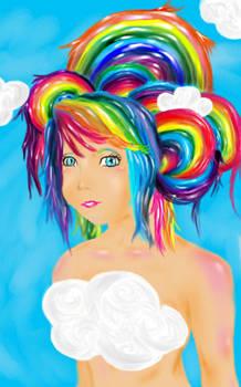 Rainbow Chick
