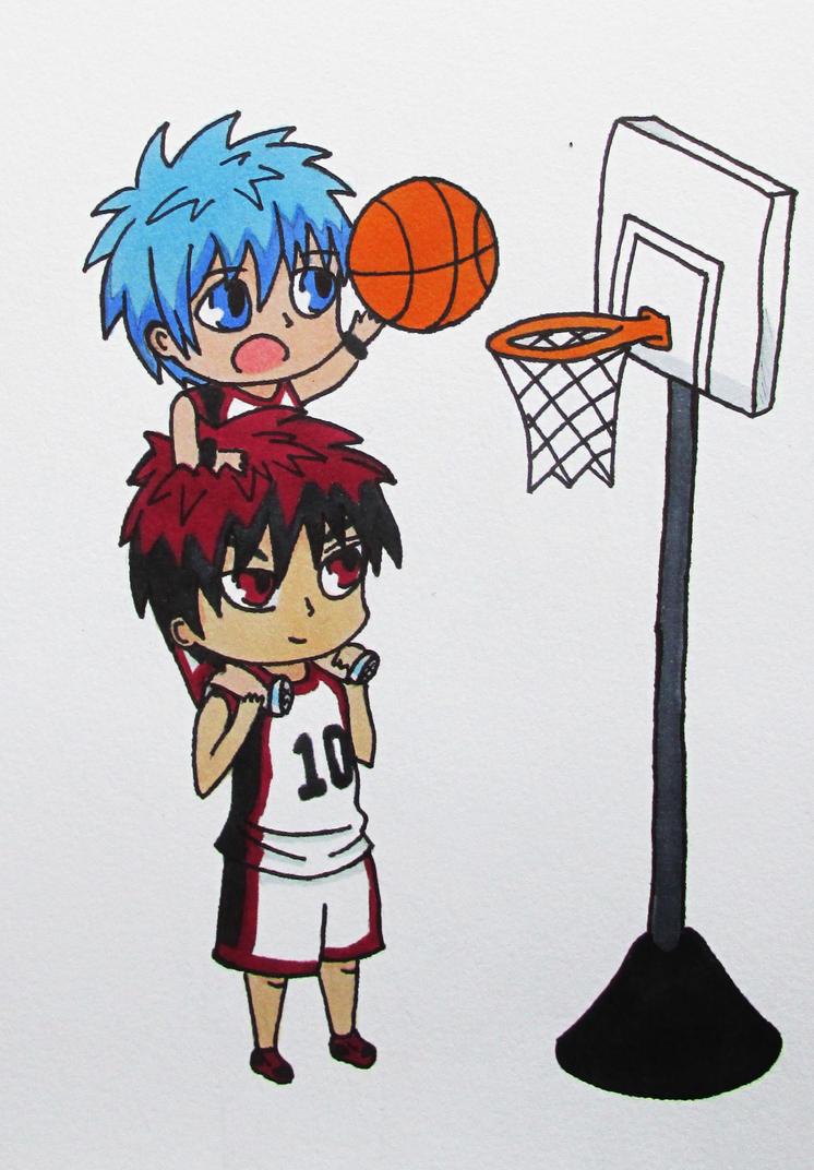 Kuroko no Basket - Chibi Kagami and Kuroko by ThatXCchick ...