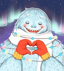 Yeti in love