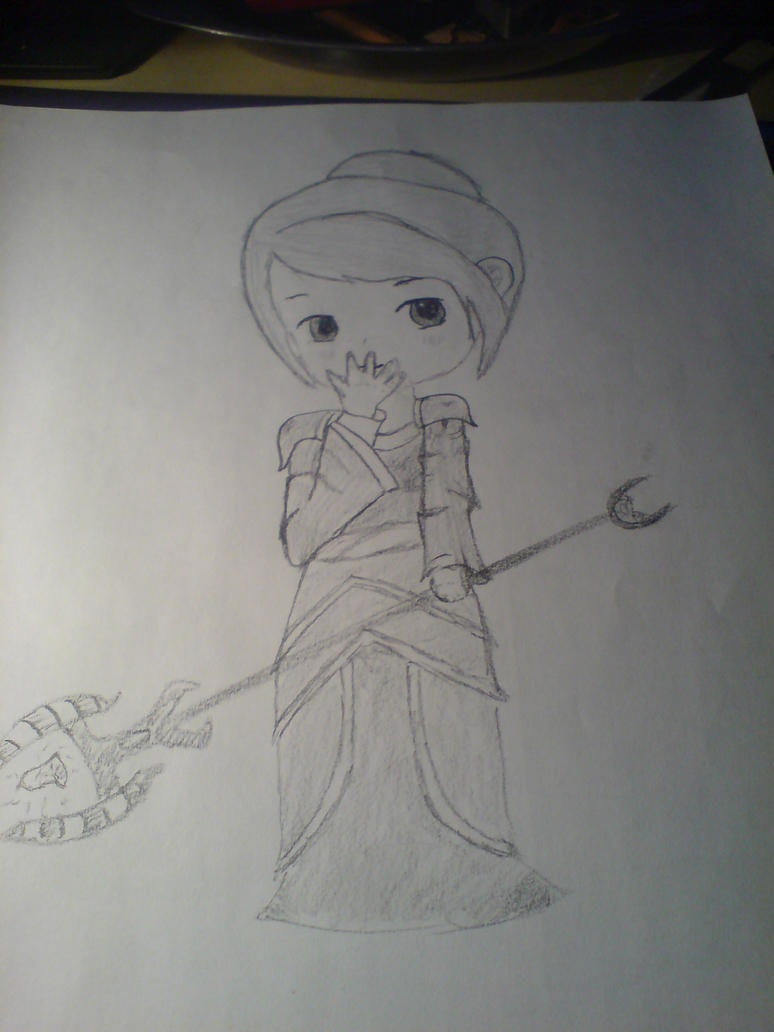 Priestess by komolyalma