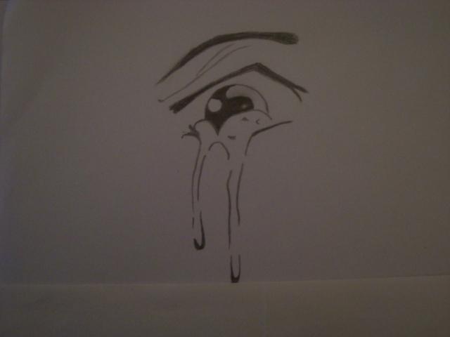 Manga eye - crying by WoshiSmoshi on DeviantArt