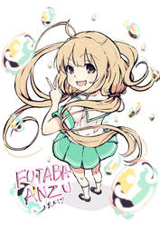Doya! Anzu Futaba by Nakatokung