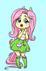 Fluttershy Surprise! - Equestria Girls by ameliacostanza