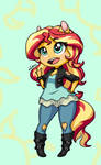 Sunset Shimmer-ing - MLP EQUESTRIA GIRLS