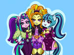 The Dazzlings Dazzle - EQG MLP