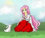 Hello Little Angel - Fluttershy MLP by ameliacostanza