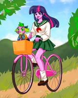 Bicycle Riding - MLP INUYASHA
