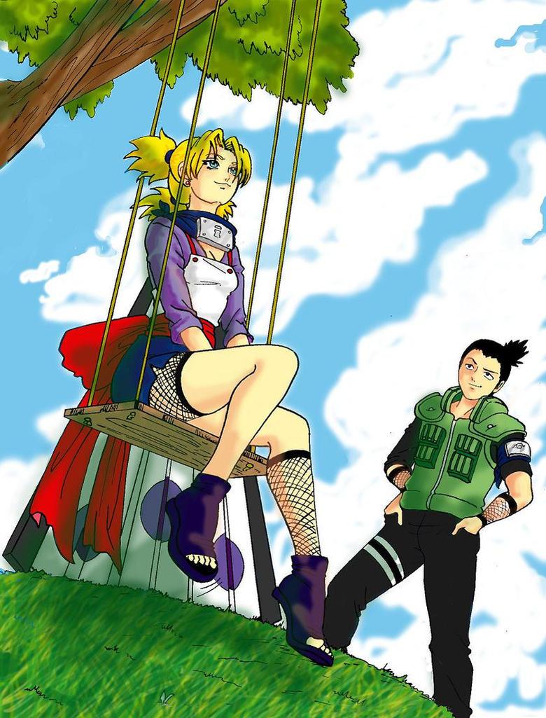 Shikamaru no ve las nubes... by Jeupe