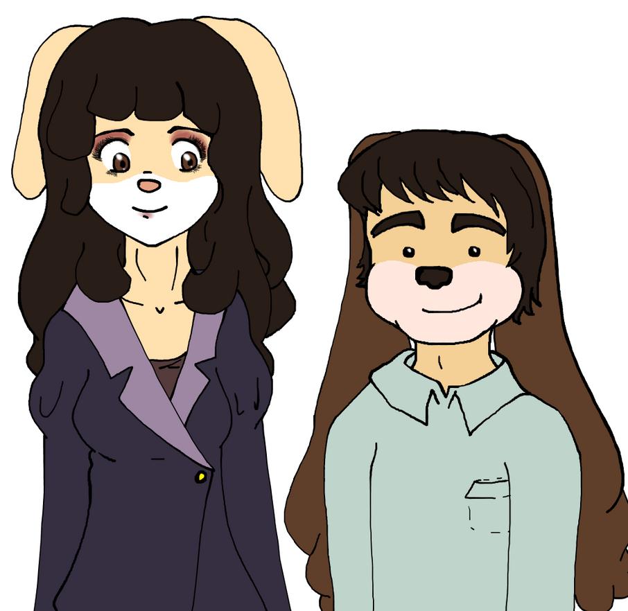 Degermark siblings by DinaTS