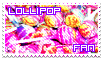 Lollipop Fan Stamp by klll100