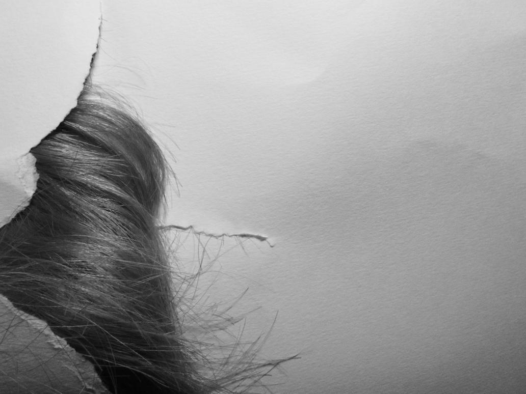 Hair Self portrait 5 by Deviant-Danni