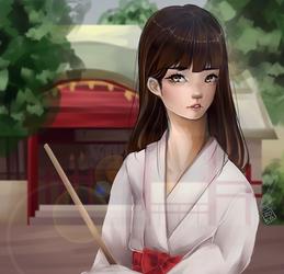 Shrine by Noizora