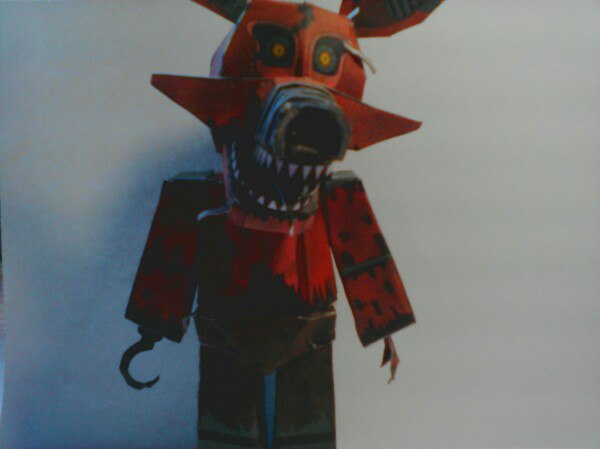 Fnaf Papercraft Nightmare Foxy Full Handmade By – Cover Trending