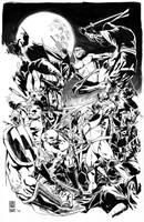 Cowabunga! - Teenage Mutant Ninja Turtles by junbobkim