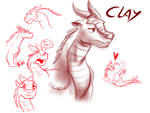 Sketches - Clay (WoF)