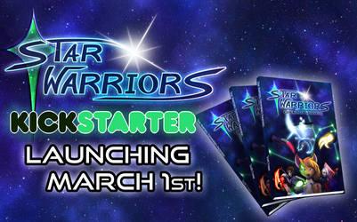 Printed Comic Book Kickstarter launching March 1st by StarWarriors