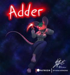 Monthly Character - Star warrior OC - Adder