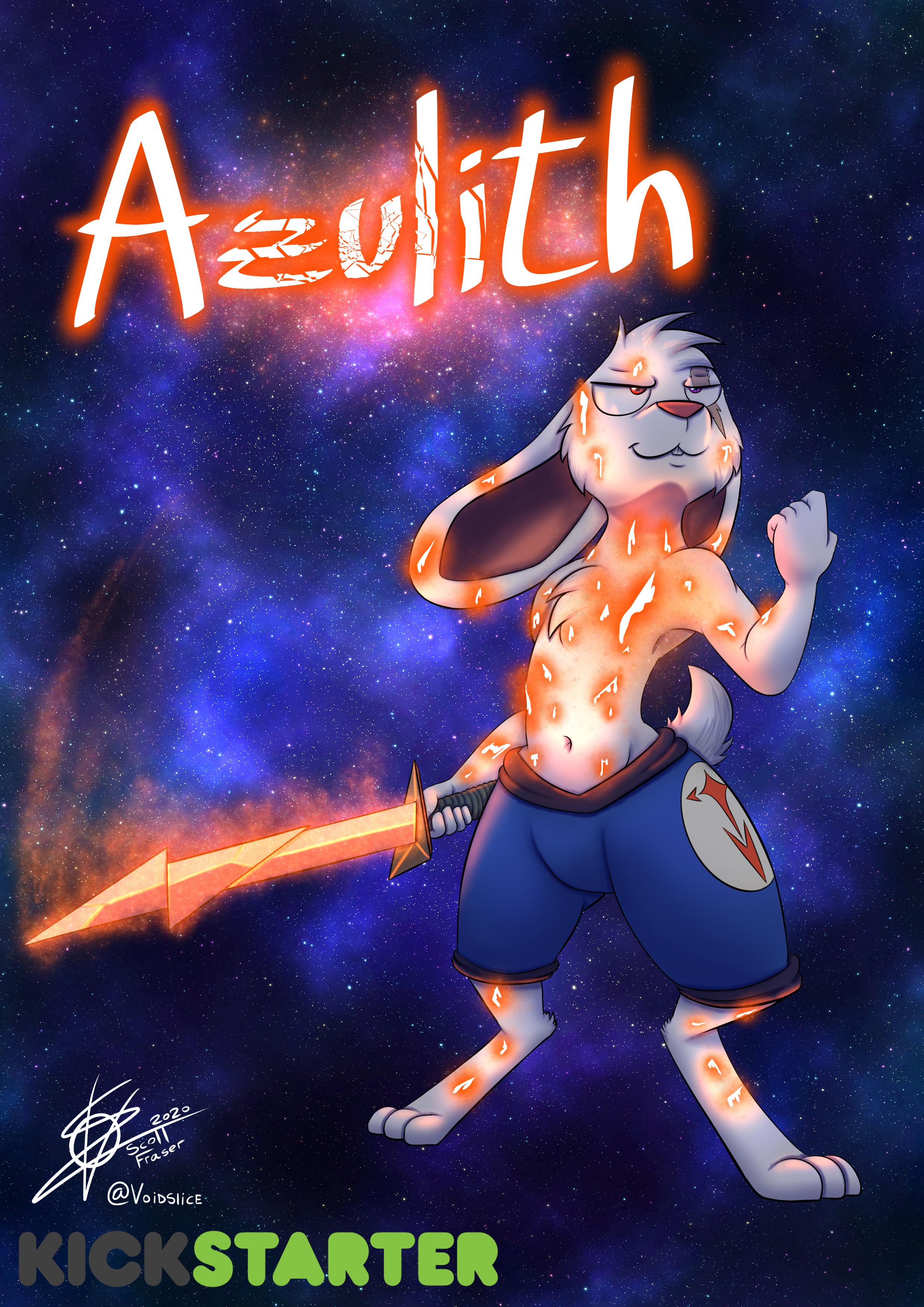 Star Warrior OC - Azulith