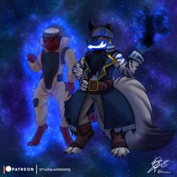 Star Warrior OC - Aegis and his Shadow