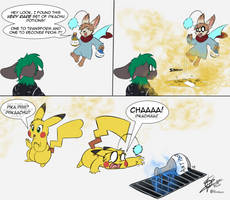 Commission - Pikachu Potions