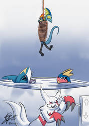 Commission - Poke Sharktank