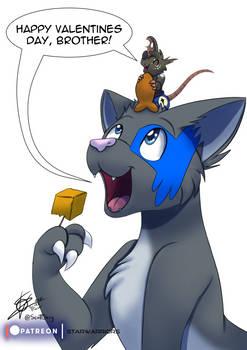 Monthly Character - Cat Rat valentines