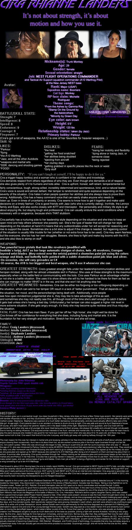 Cira Landers Image Profile by Jetta-Windstar